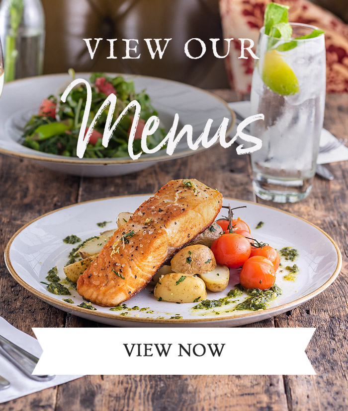 View our Menus at The Priory