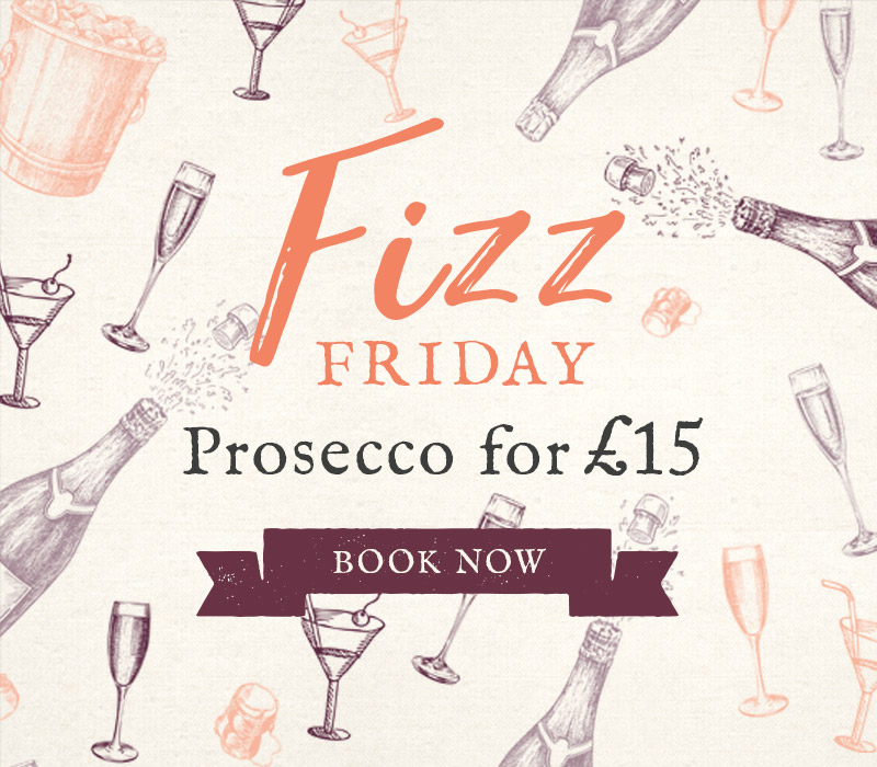 Fizz Friday at The Friar's Oak
