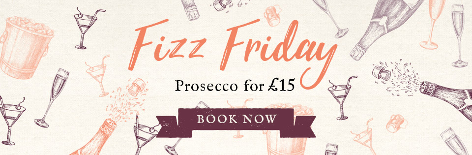 Fizz Friday at The Glover Arms