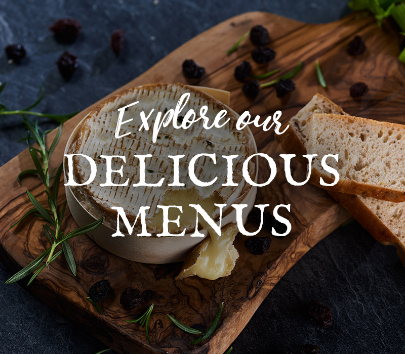 Discover our menus