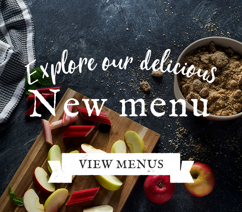Try Our New Menus