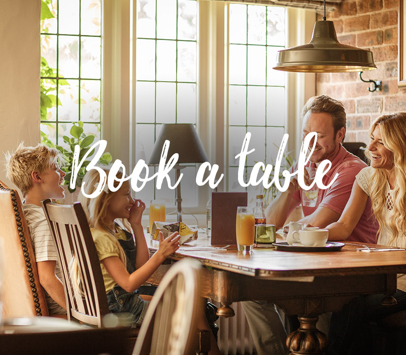Book a table at your nearest Vintage Inn