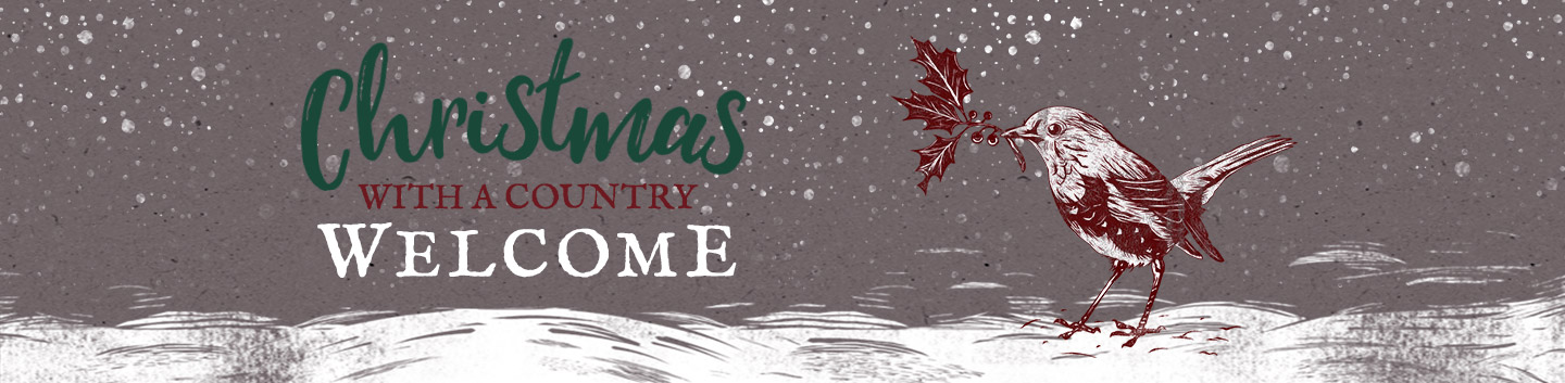 Christmas with a country welcome