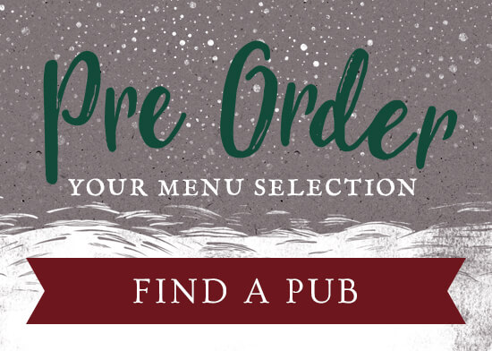 Pre-Order your menu sedlection