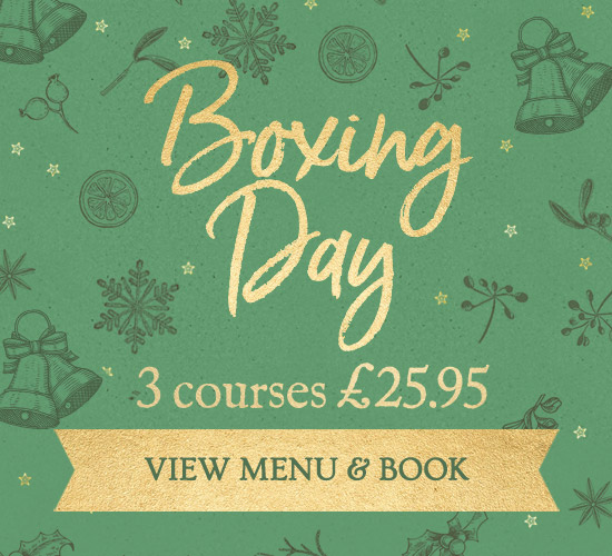 Boxing Day Menu