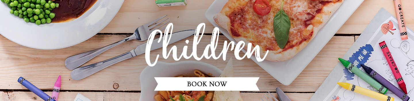 Children's Menu at The Three Crowns