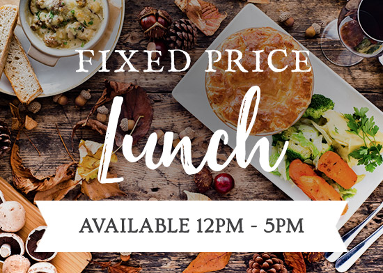 Fixed Price Lunch Menu