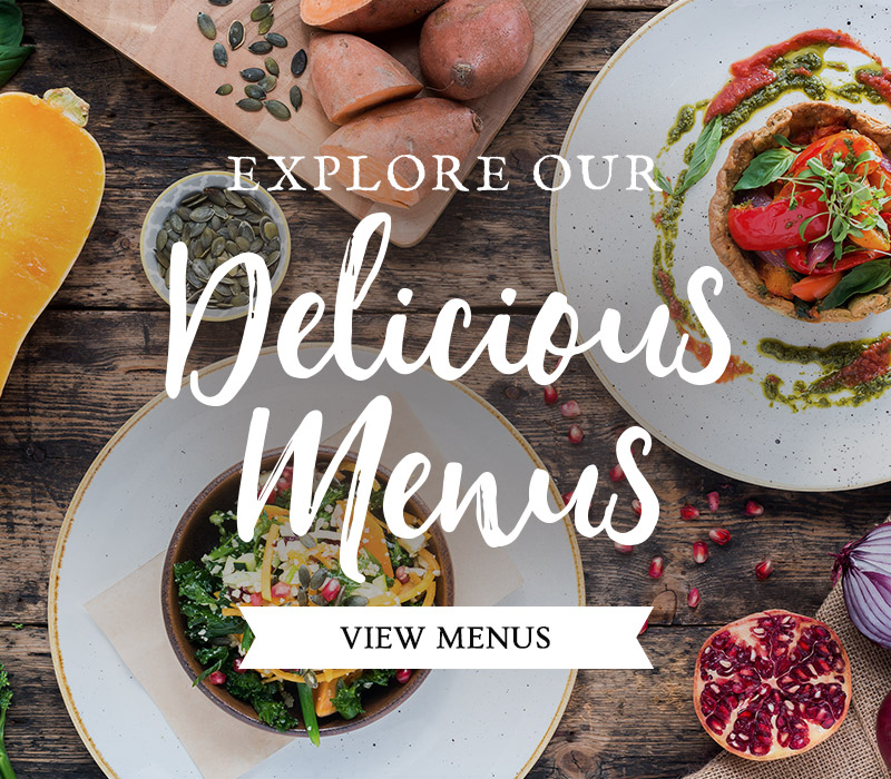 Discover our menus at The Three Cups