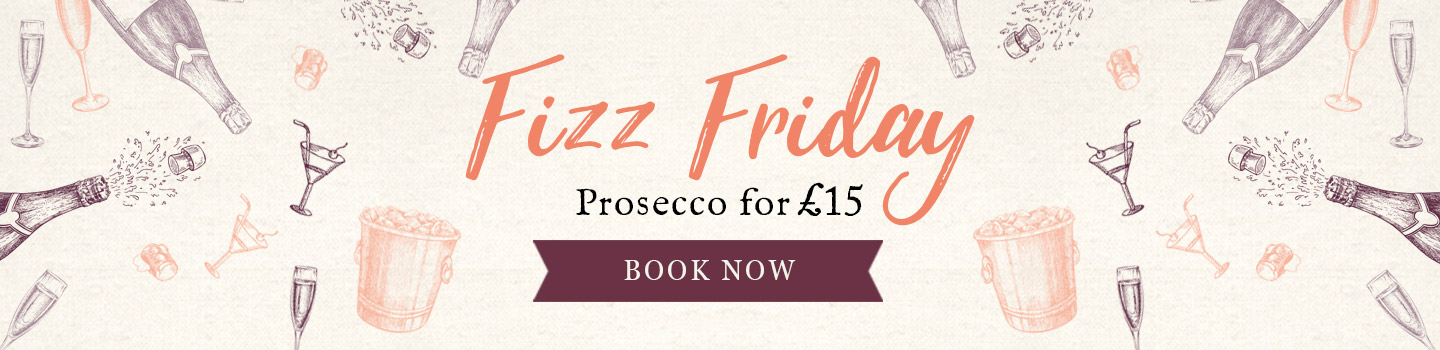 Fizz Friday at Vintage Inns