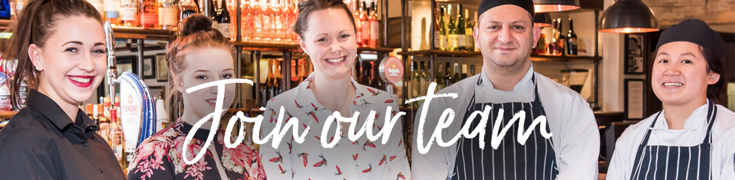 Join our team at Vintage Inns