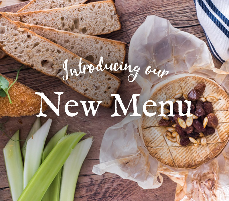 Introducing our new menus