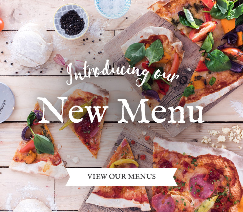Introducing our new menu