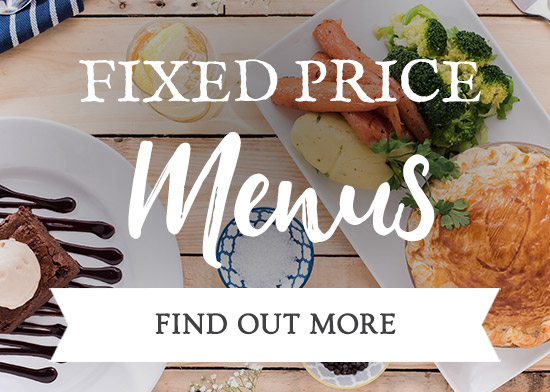 Fixed Price Menus