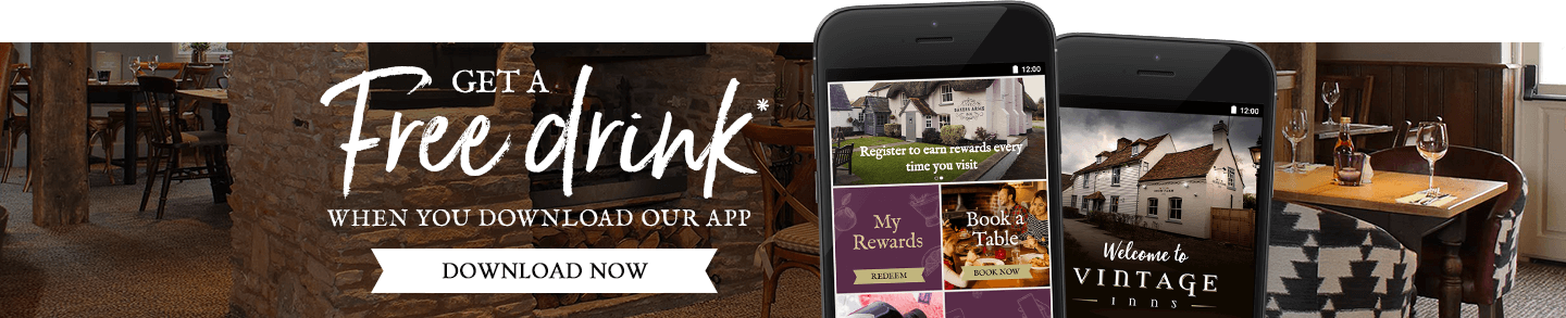 Download the Vintage Inns App