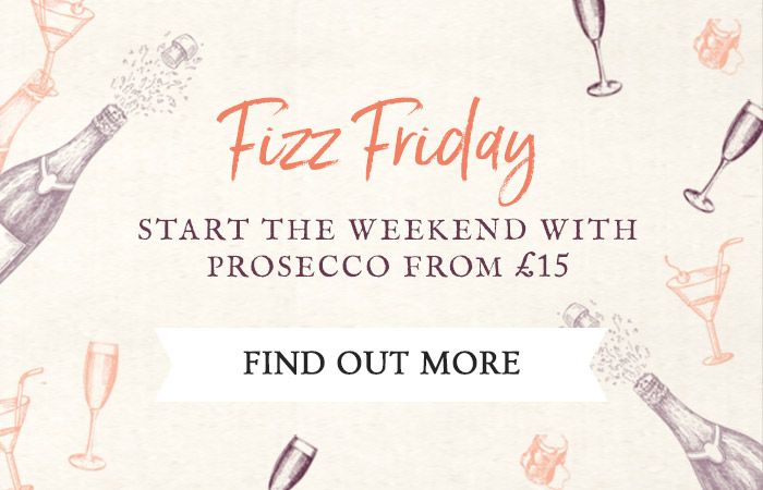 Fizz Friday at The Trent Lock