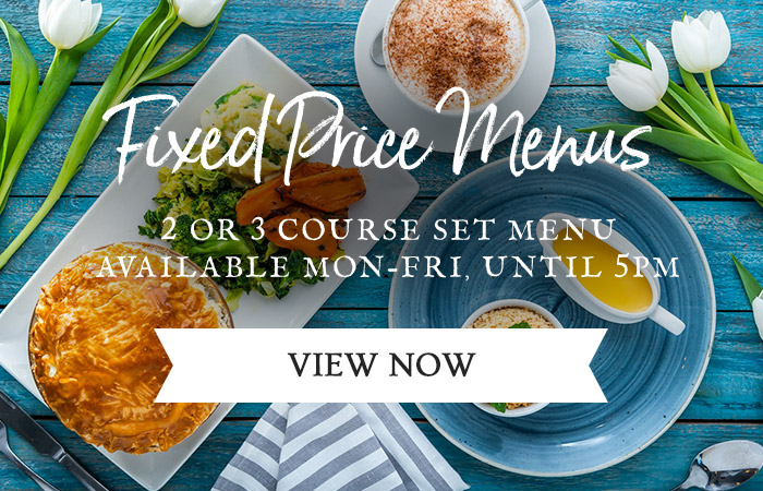 Fixed Price Menus at The Trent Lock