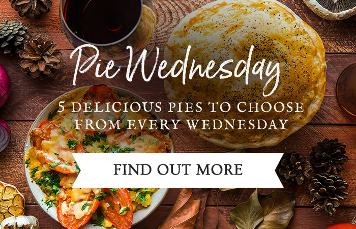 Pie Wednesday at The Quorndon Fox