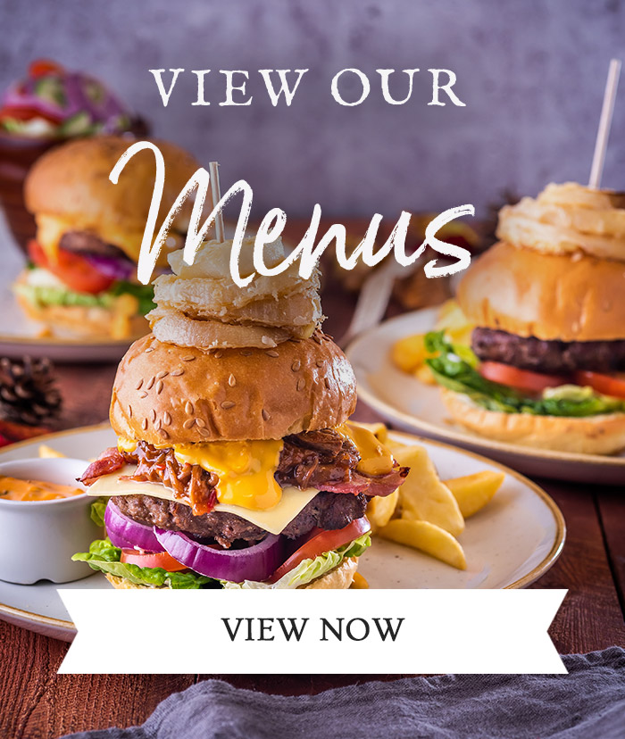 View our Menus at The Stables