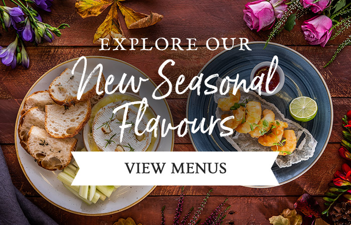 New Menus at [outlet]