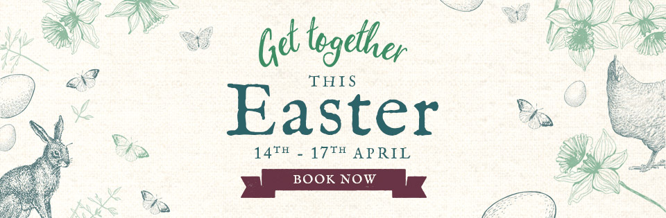 Book now for Easter at Vintage Inns