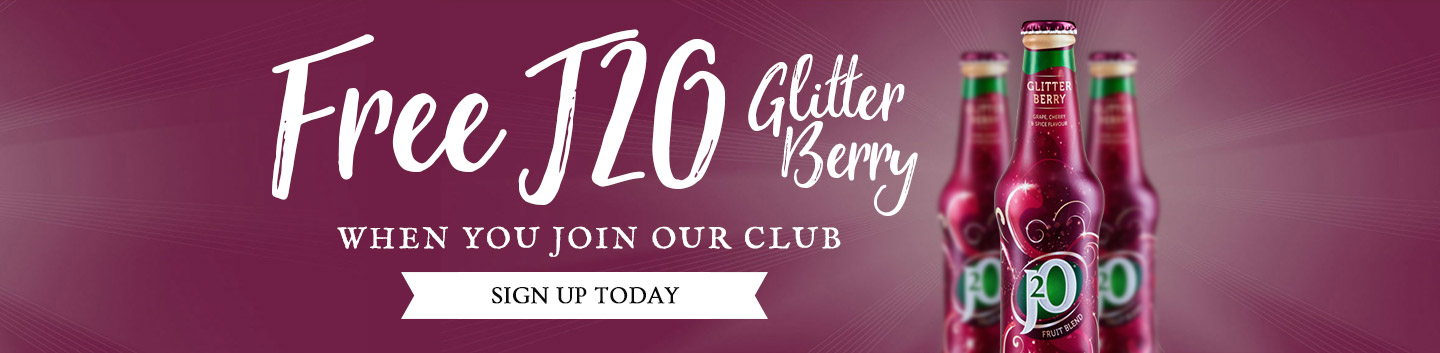 Sign up - Join our club