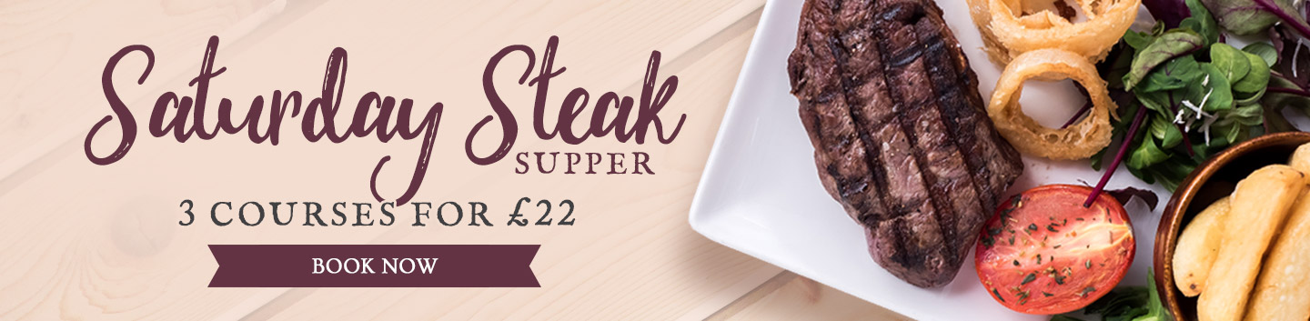 Steak & Supper at The Packe Arms