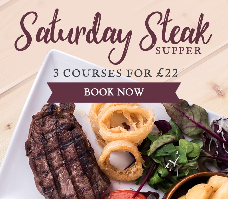 Steak & Supper at The Stretton Fox