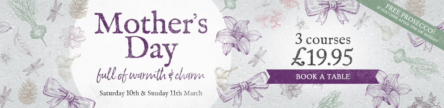 Mother's Day at The Plymouth Arms