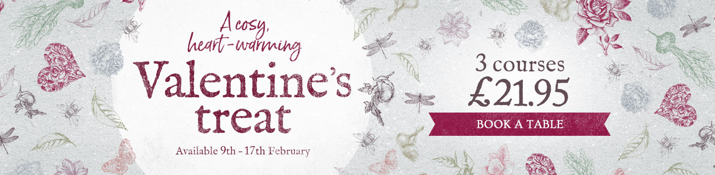 Valentine's Day at The Baker's Arms