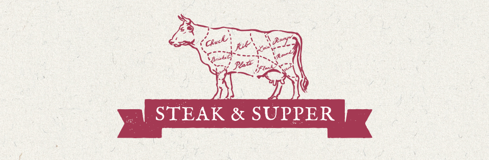 Steak & Supper nights at The Crow and Gate