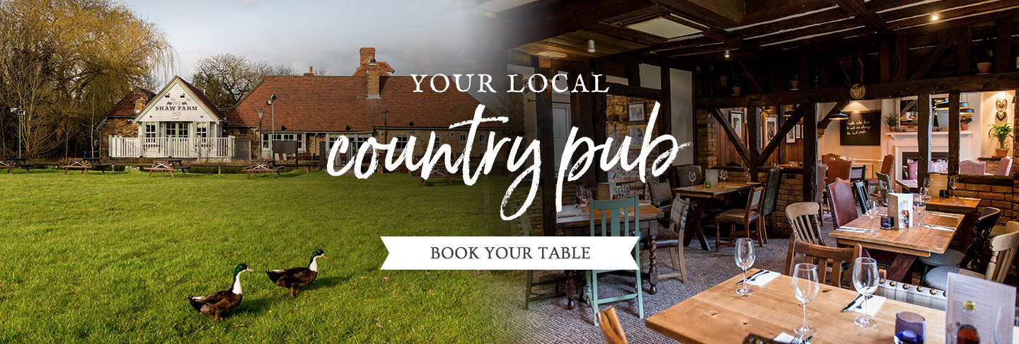 Book your table at Shaw Farm