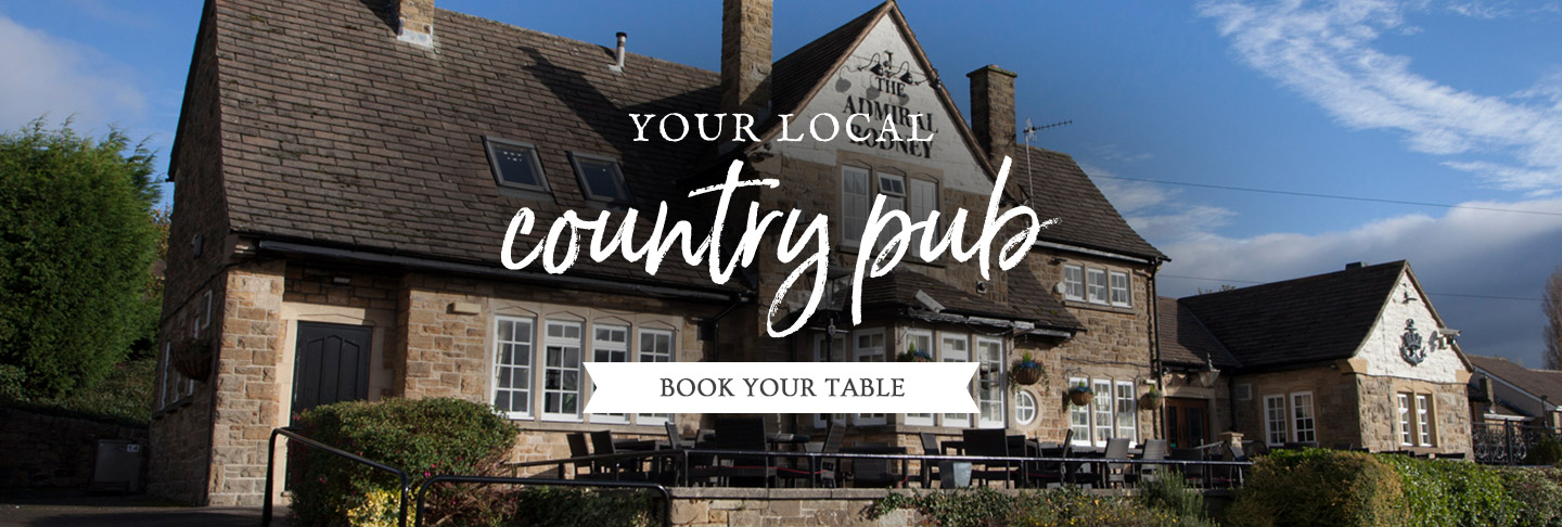 Book your table at The Admiral Rodney