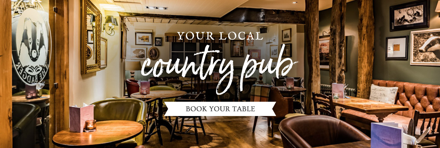Book your table at The Badger