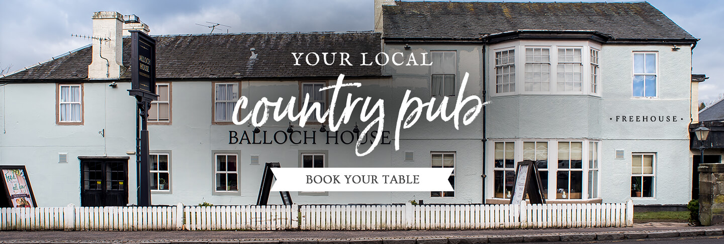Book your table at The Balloch House