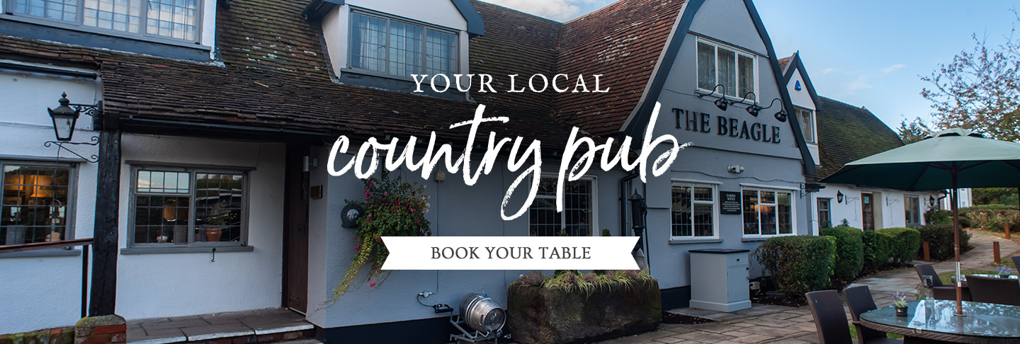 Book your table at The Beagle