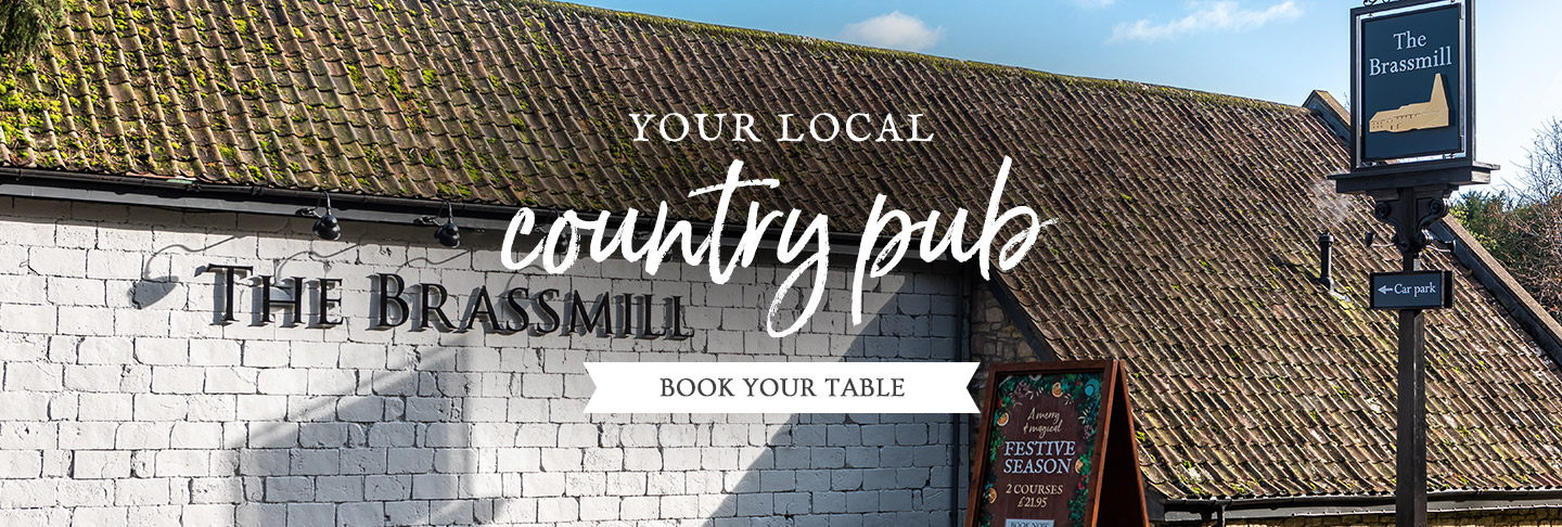 Book your table at The Brassmill