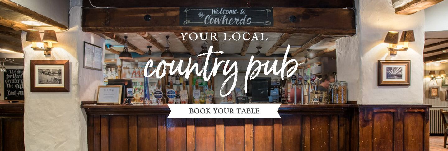 Book your table at The Cowherds