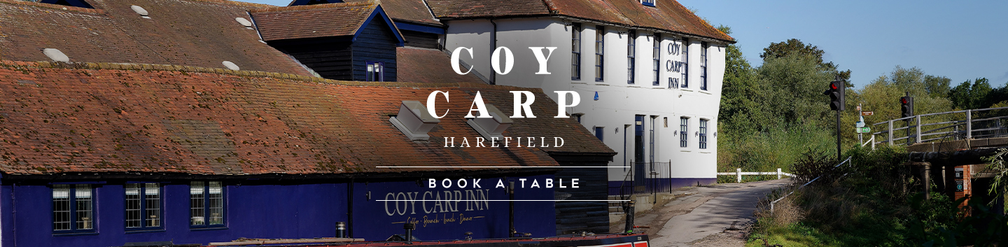Book your table at The Coy Carp