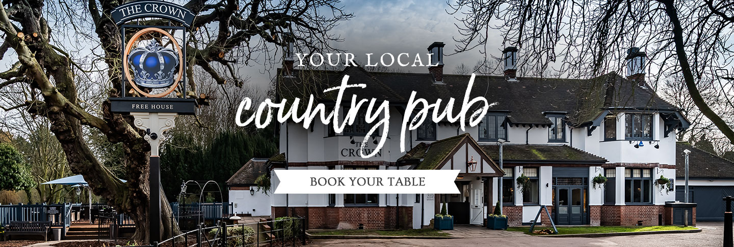 Book your table at The Crown
