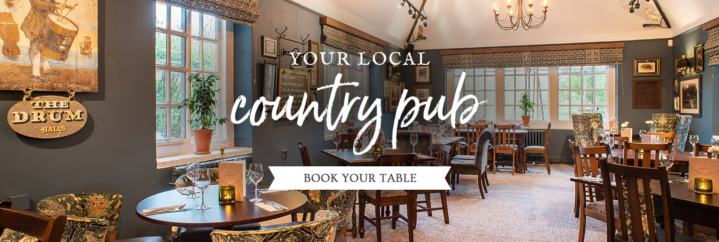 Book your table at The Drum Inn