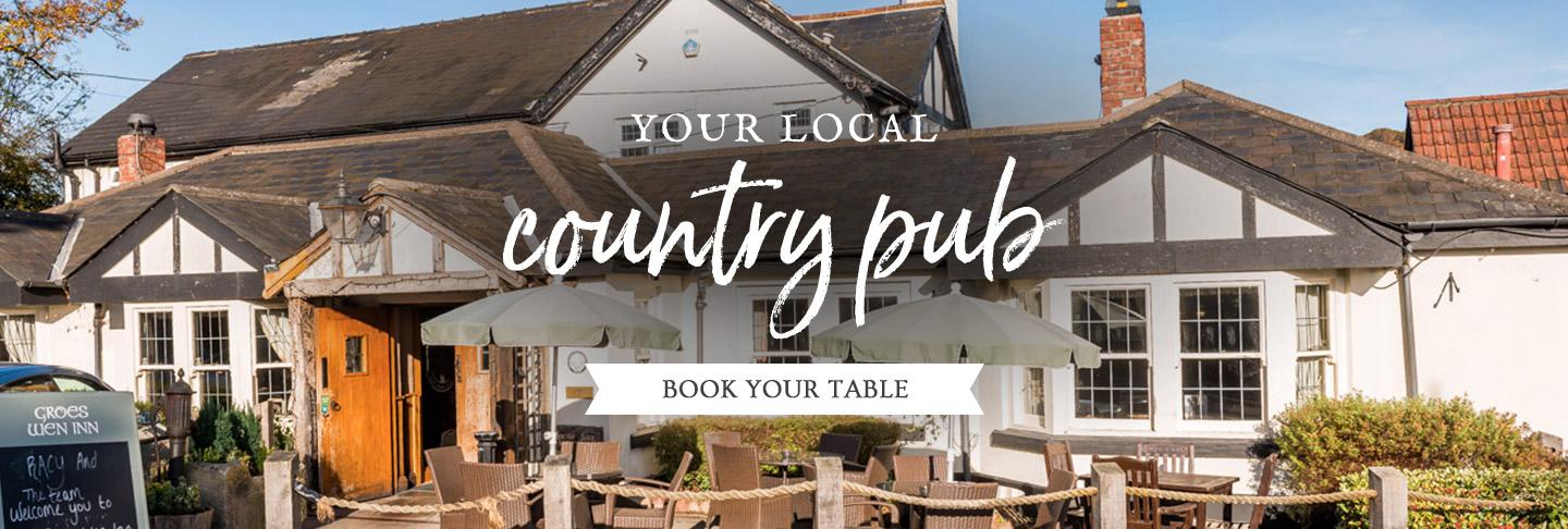Book your table at The Groes Wen Inn