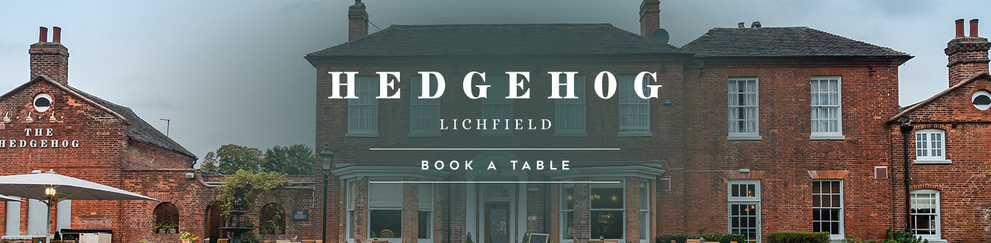 Book your table at The Hedgehog