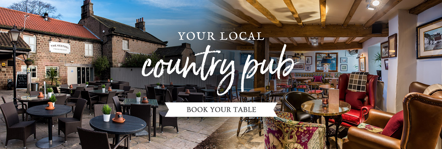 Book your table at The Kestrel