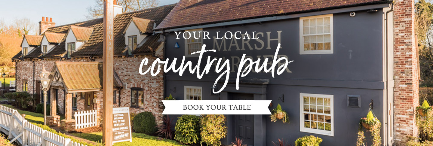 Book your table at The Marsh Harrier