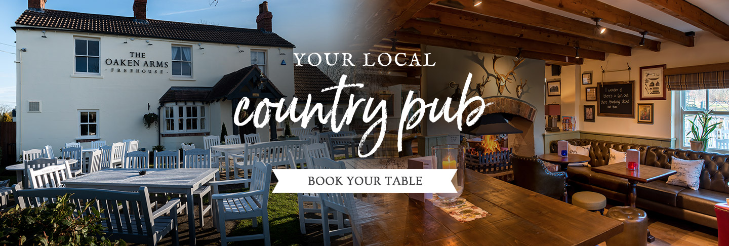 Book your table at The Oaken Arms