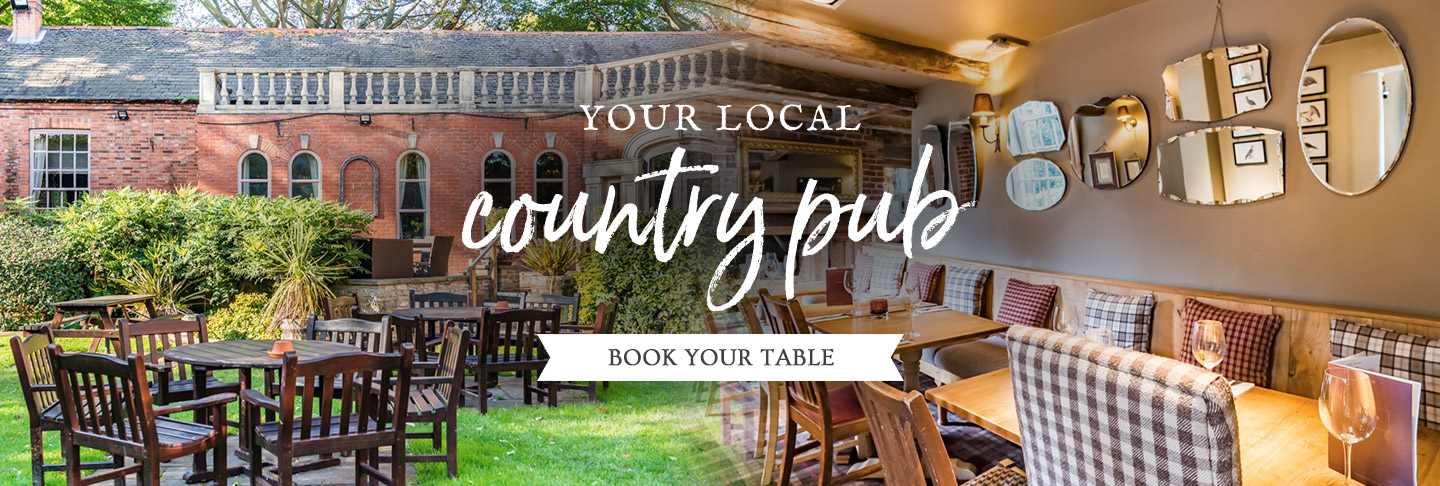 Book your table at The Quorndon Fox
