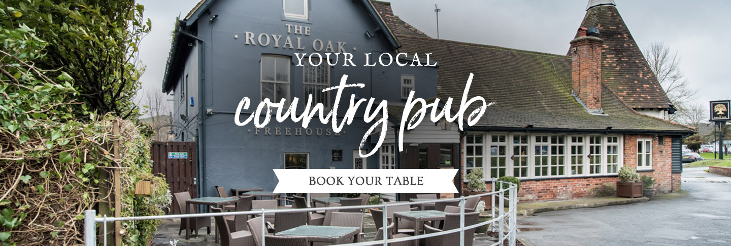 Book your table at The Royal Oak