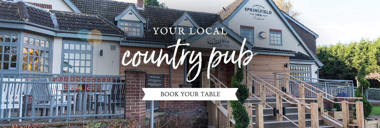 Book your table at The Springfield Inn