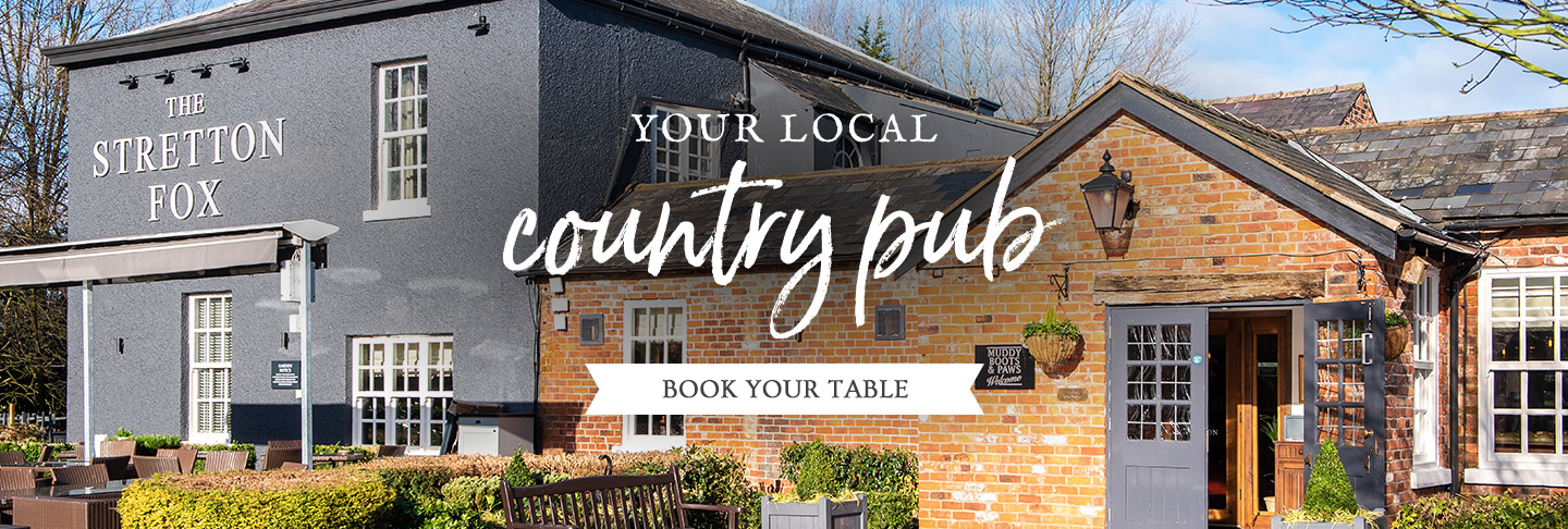 Book your table at The Stretton Fox