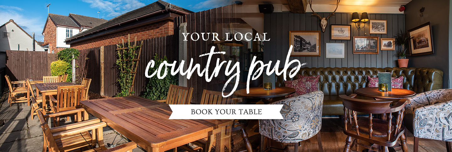 Book your table at The Three Crowns